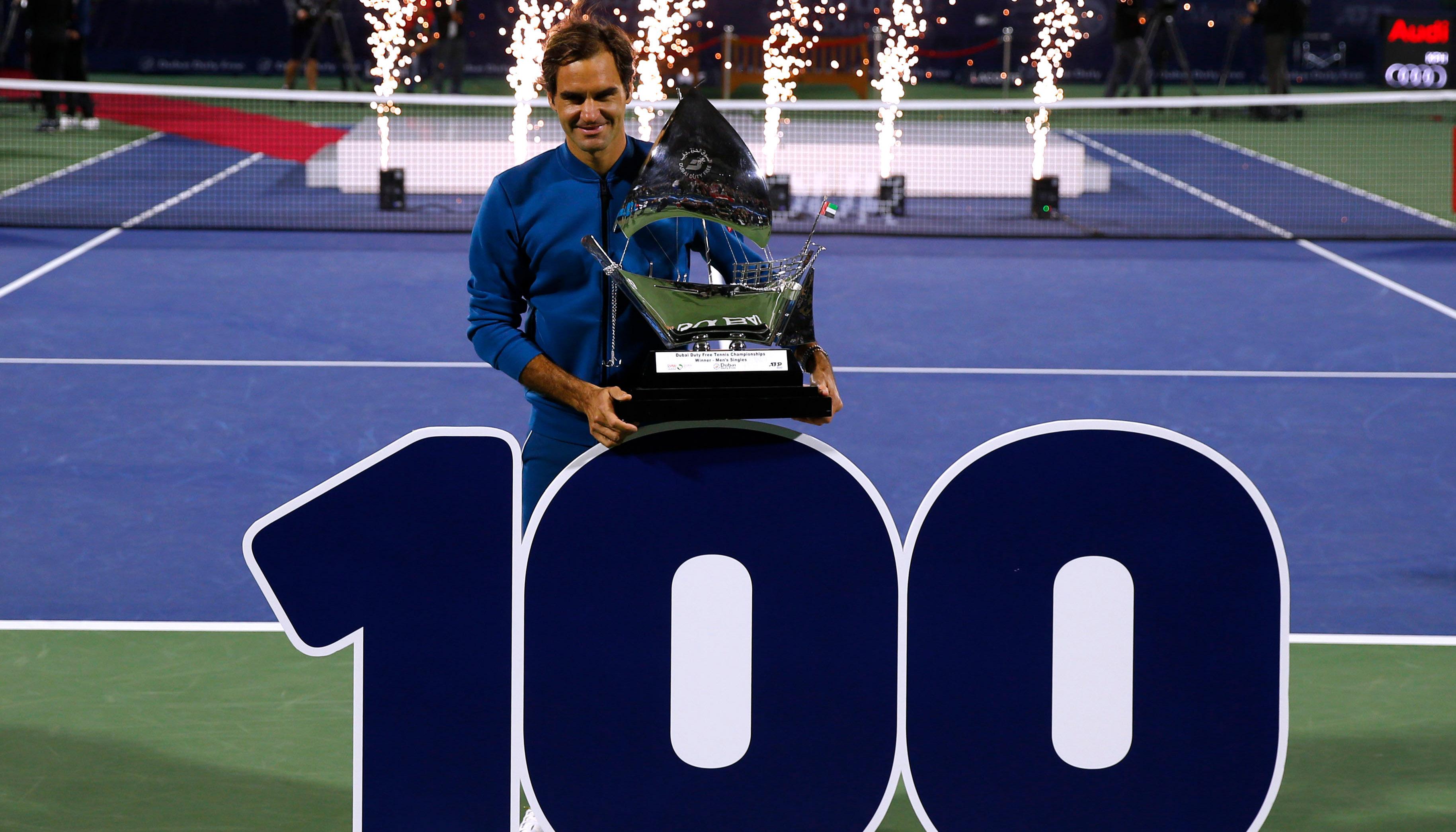 Roger Federer: Meilensteine auf dem Weg zur 100