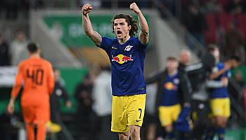 DFB-Pokal: RB Leipzig der 57. Klub im Halbfinale