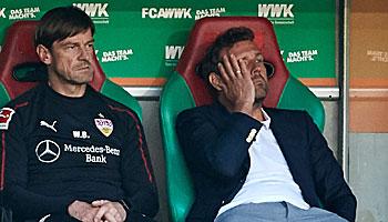 Weinzierls Zeit als VfB-Trainer: Eine Bilanz des Grauens