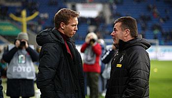 Bundesliga: Bäumchen wechsel dich auf der Trainerbank