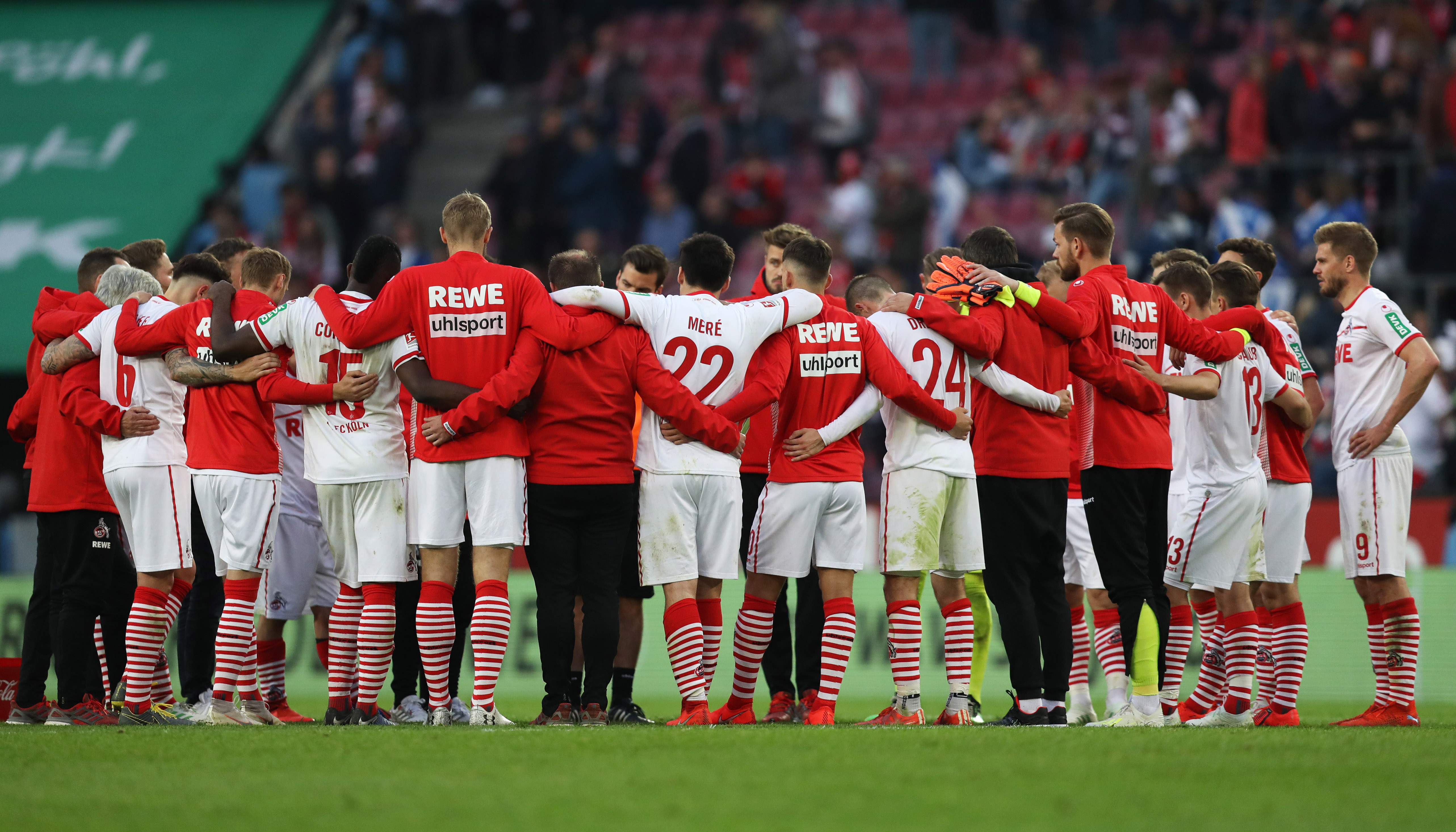 Greuther Fürth – 1. FC Köln: Zusammenstehen für den letzten Schritt