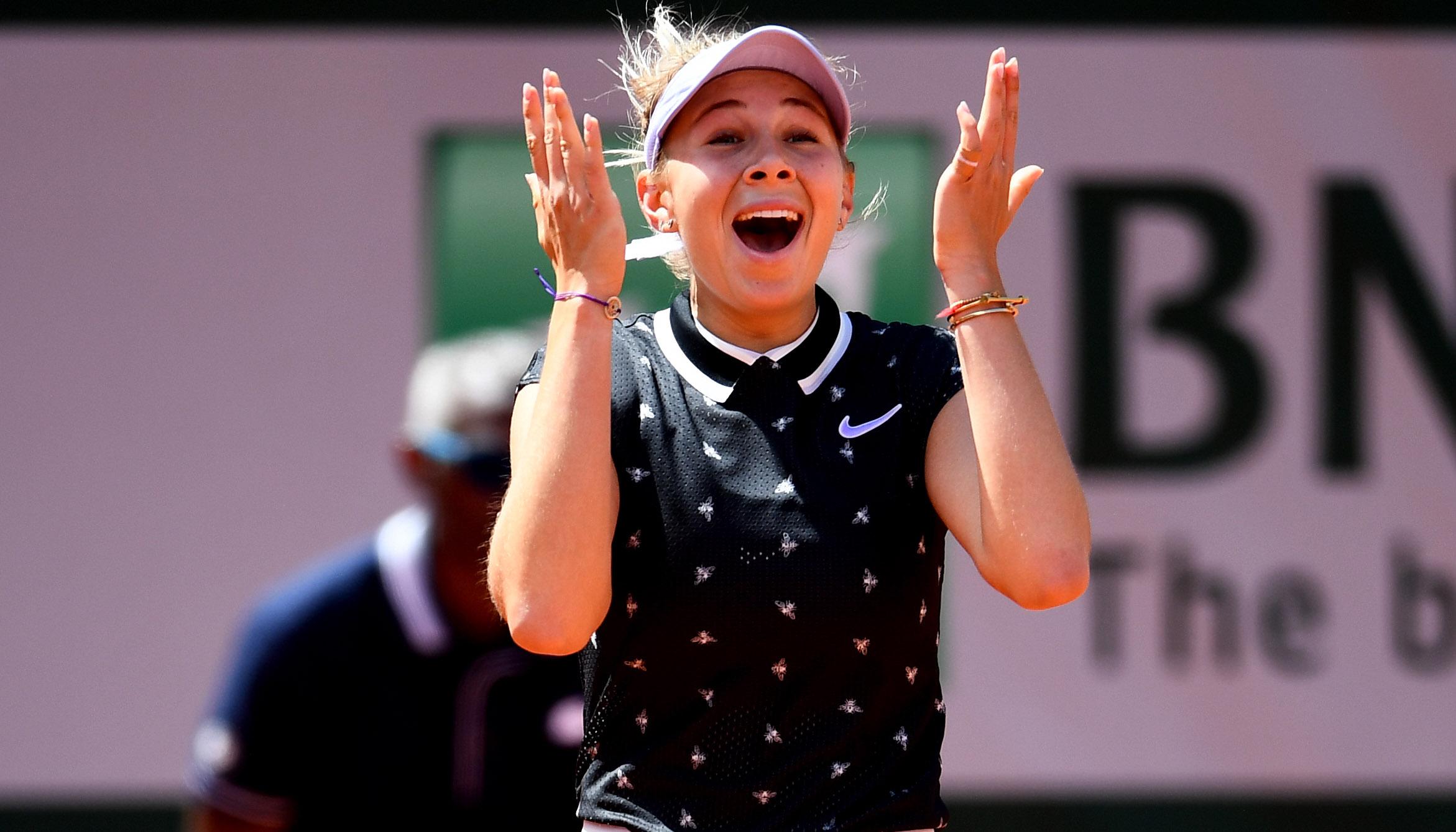 French Open: Debütantinnenball im Halbfinale