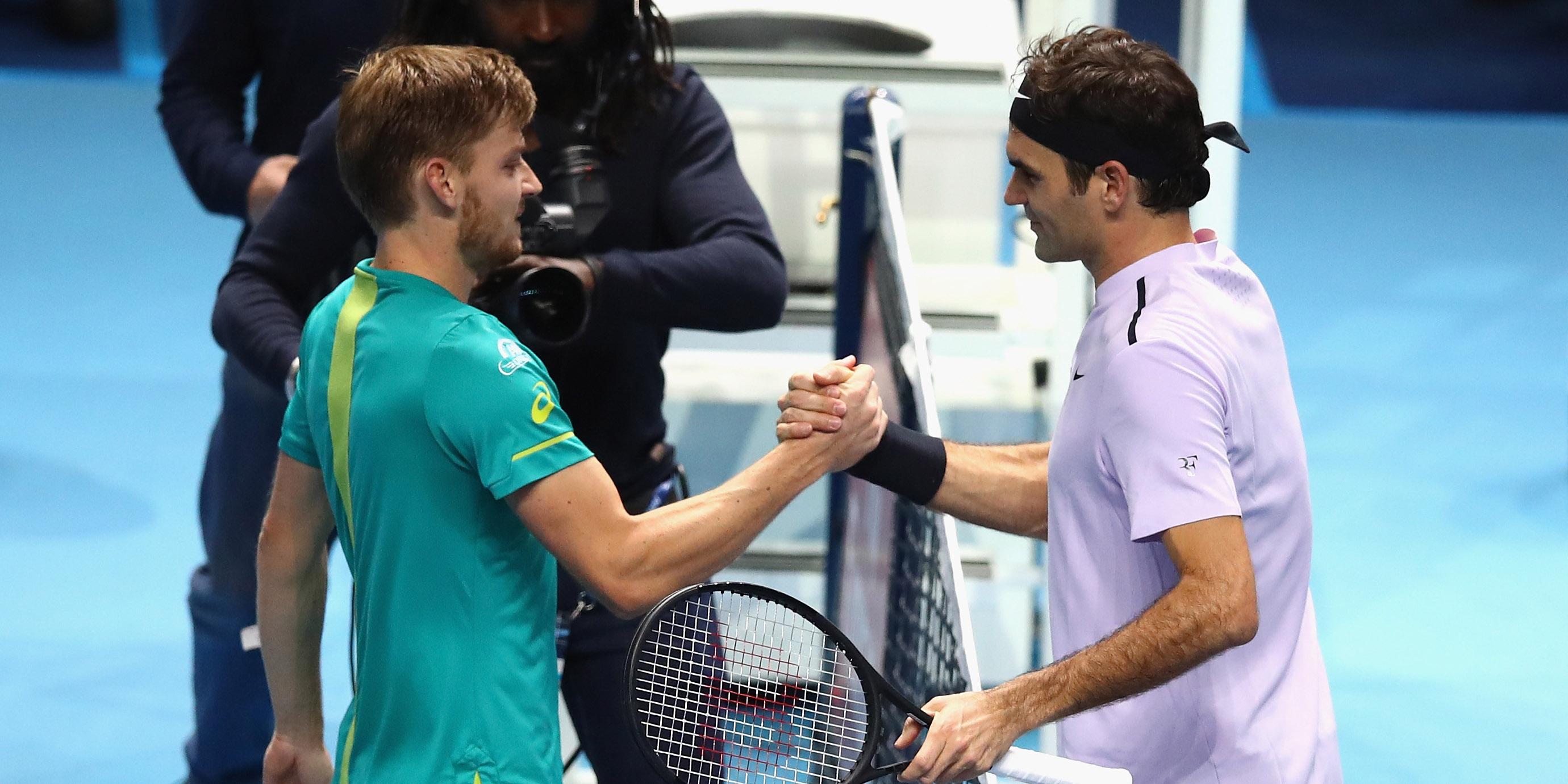 David Goffin, Roger Federer