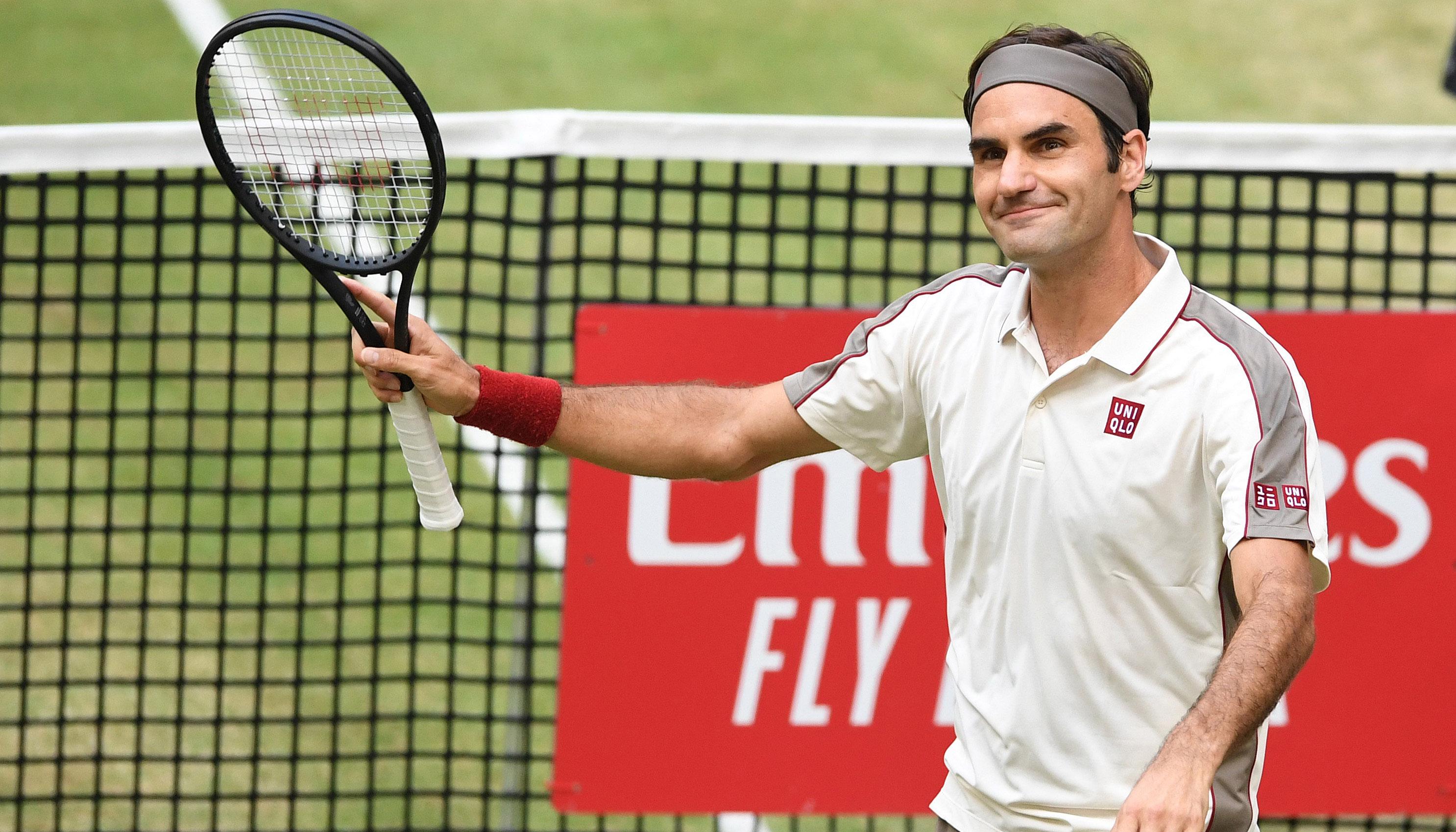 Roger Federer: Ausgeruht zum Jubiläumstitel in Halle