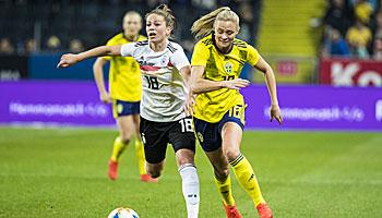 Deutschland – Schweden: Setzt sich der DFB-Lauf gegen die Skandinavierinnen fort?