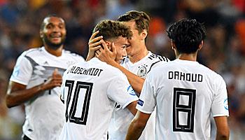 Deutschland – Rumänien: DFB-U21 peilt Finaleinzug an