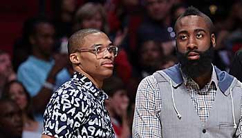 NBA: Wiedervereinigung von Westbrook und Harden