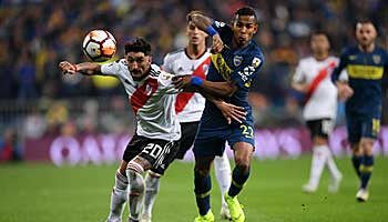 Superclasico: Boca gegen River in der Copa Libertadores
