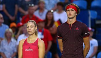 Vor den US Open: Kerber und Zverev in der Krise
