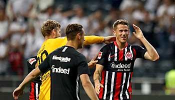 Eintracht Frankfurt – FC Vaduz: Lockere Trainingseinheit für die SGE