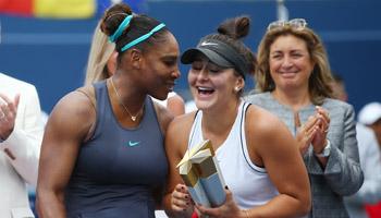 US Open: Nächster Rekordversuch von Williams im Duell der Generationen