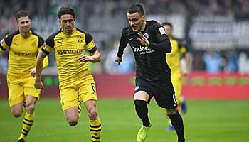 Eintracht Frankfurt – BVB: Jubiläums-Duell der Traditionsklubs