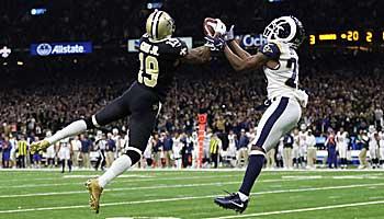 Nach Pass-Interference-Skandal: Erstes Duell zwischen Rams und Saints
