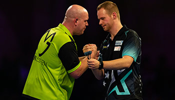 Darts: Van Gerwen greift nach dem 5. World Grand Prix-Titel