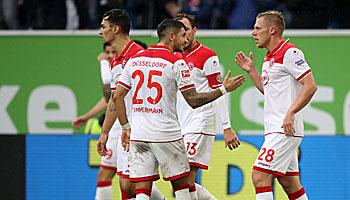 SC Paderborn – Fortuna Düsseldorf: Auswärtsteam im Vorteil