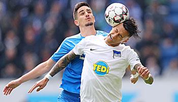 Hertha BSC – TSG Hoffenheim: Welcher Aufwärtstrend geht weiter?
