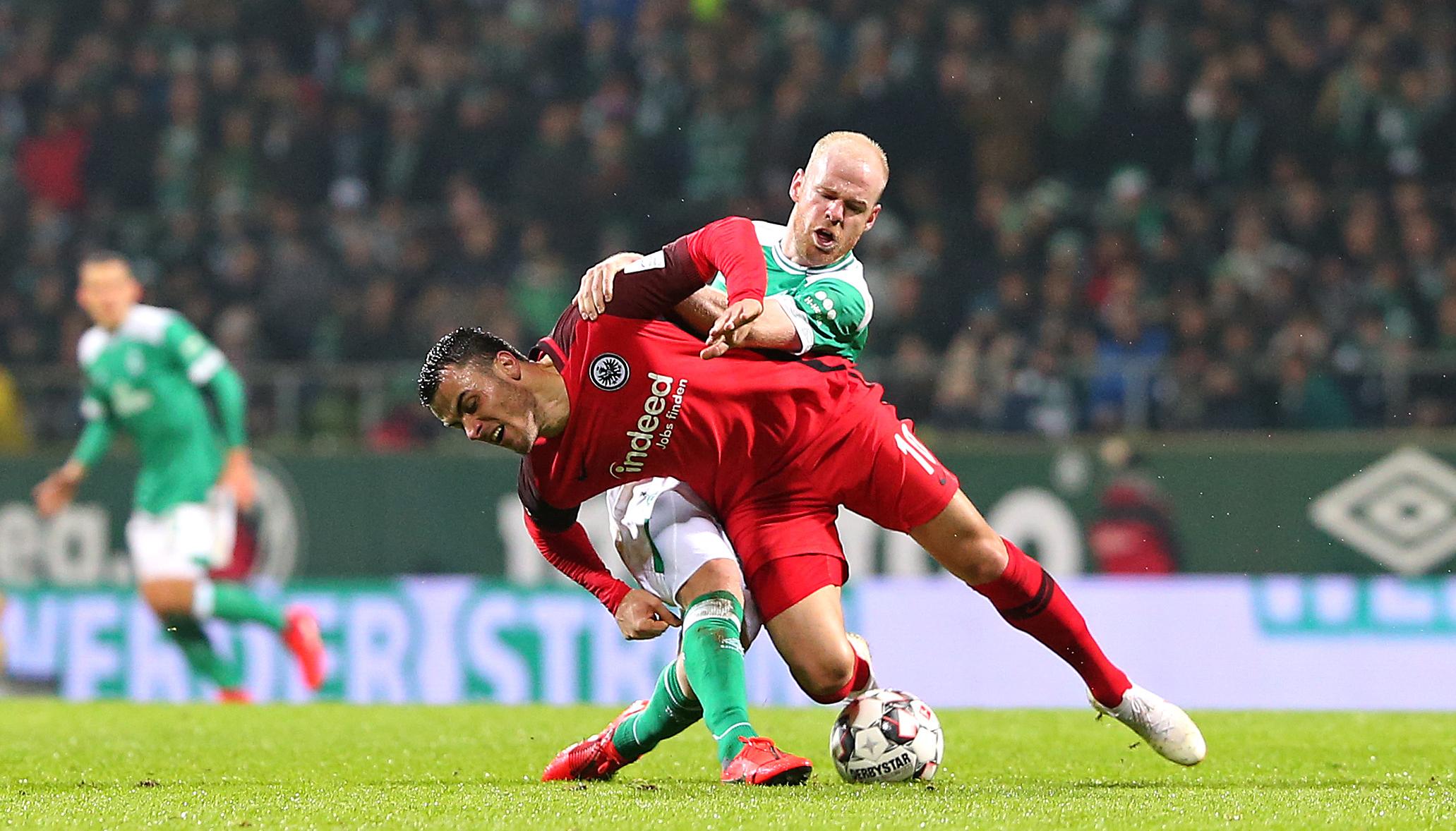 Werder Bremen – Eintracht Frankfurt: SVW will auf den Relegationsrang