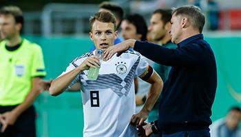 U21: Kuntz vor dem Duell gegen Belgien in Sorge