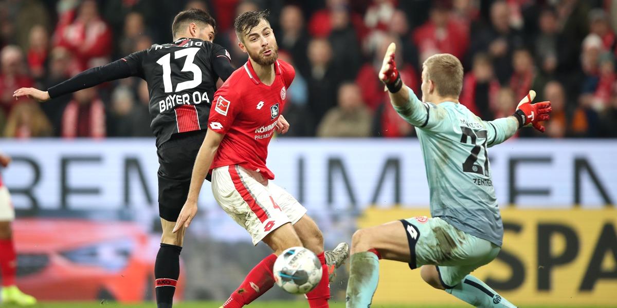 Bayer Leverkusen Lucas Alario Mainz