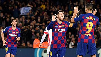 Jahrestorschützen 2019: Messi thront über allen