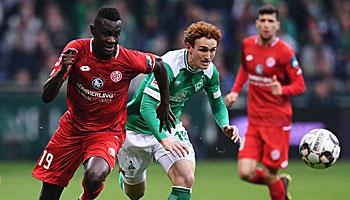 Mainz 05 – Werder Bremen: Bilanz macht dem SVW Hoffnung