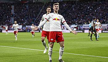 Bundesliga-Torschützenkönig: Timo Werner jagt den Favoriten