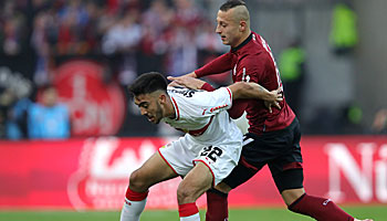 VfB Stuttgart – 1. FC Nürnberg: Krisen-Teams unter sich