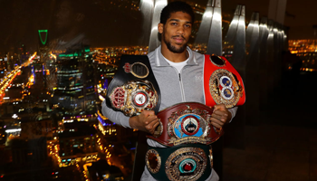 Anthony Joshua: Nur ein Fight nach der Corona-Pause