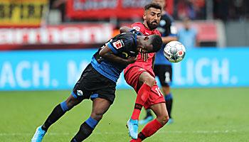 SC Paderborn – Bayer Leverkusen: Start für die Aufholjagd