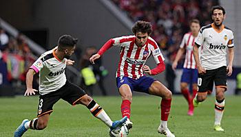 FC Valencia – Atletico Madrid: Heißer Kampf um die Königsklasse
