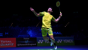 Badminton All England: The show must go on