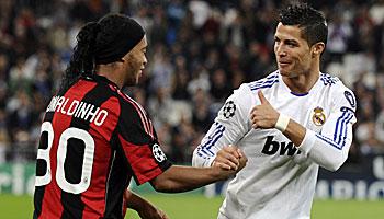 CR7, Ronaldinho und Co.: Die besten Spieler in einem bwin Trikot
