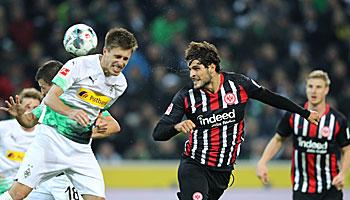 Eintracht Frankfurt – Borussia Mönchengladbach: Adler als kleiner Gewinner der Pause