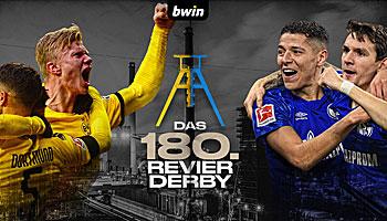 Revierderby: Zum 180. Mal Schwarz-Gelb gegen Blau-Weiß