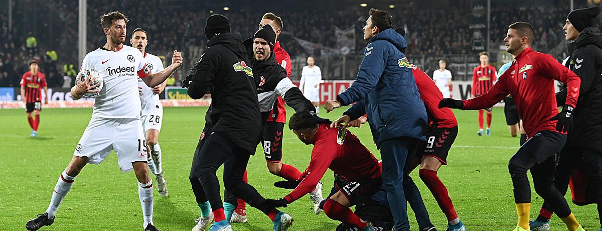 Eintracht Frankfurt - SC Freiburg Bundesliga 2019/20