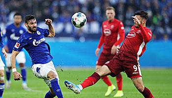 Fortuna Düsseldorf – Schalke 04: Remis-Könige unter sich
