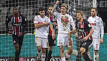 1. FC Köln – Eintracht Frankfurt: Gelingt endlich der Gisdol-Jubiläumssieg?