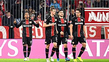 Bayer Leverkusen – FC Bayern: Historische Chance für die Werkself