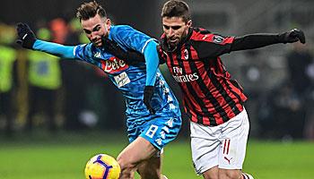 SSC Neapel – AC Mailand: Lange Durststrecke der Rossoneri