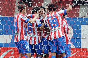 Atletico to keep abreast of Barcelona and Real Madrid with away win to nil