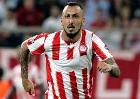 Olympiakos' Mitroglou can sneak up the outside in Champions League scoring race