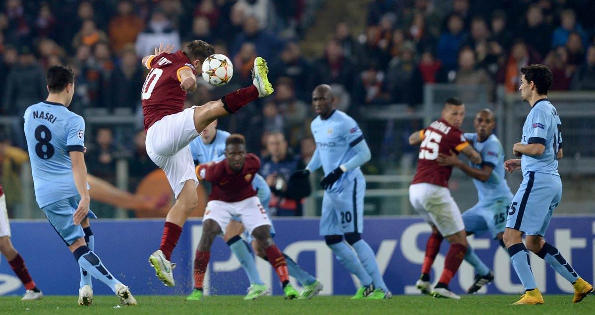 Man City won 2-0 against Roma without Yaya Toure