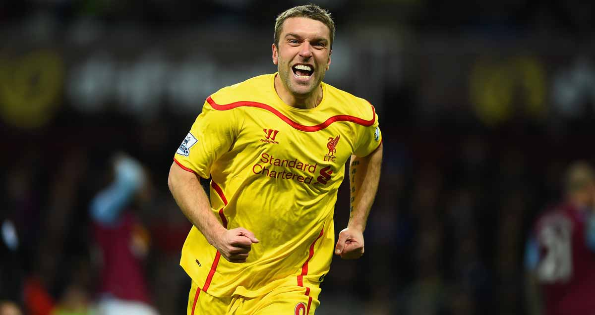 Rickie Lambert on the mark for Liverpool