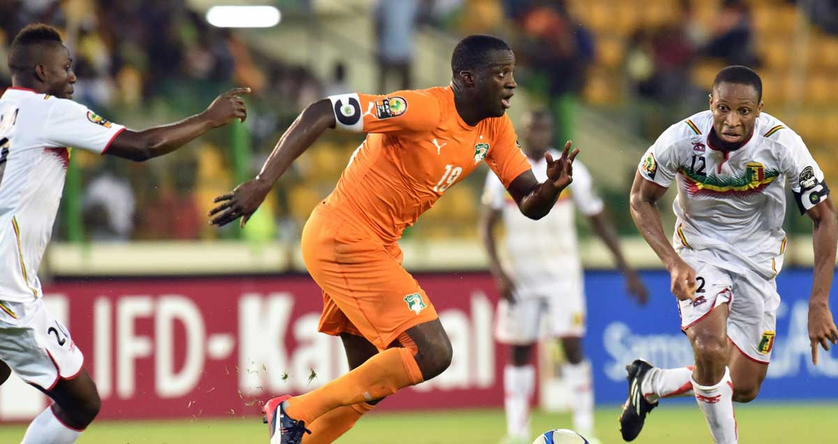 Yaya Toure enters the fray for the Ivory Coast