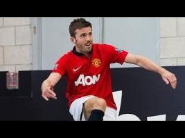 EXCLUSIVE: Watch this Man Utd star excel in Corner Kick Challenge