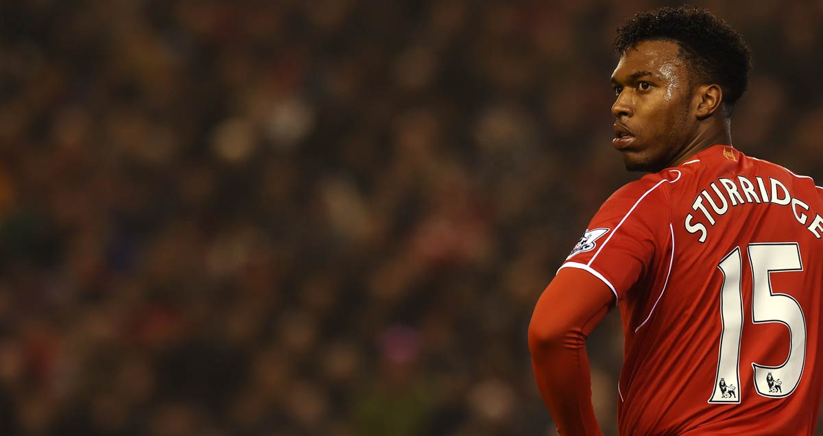 Daniel-Sturridge-stands-with-hands-on-hips-during-Liverpool-v-Tottenham