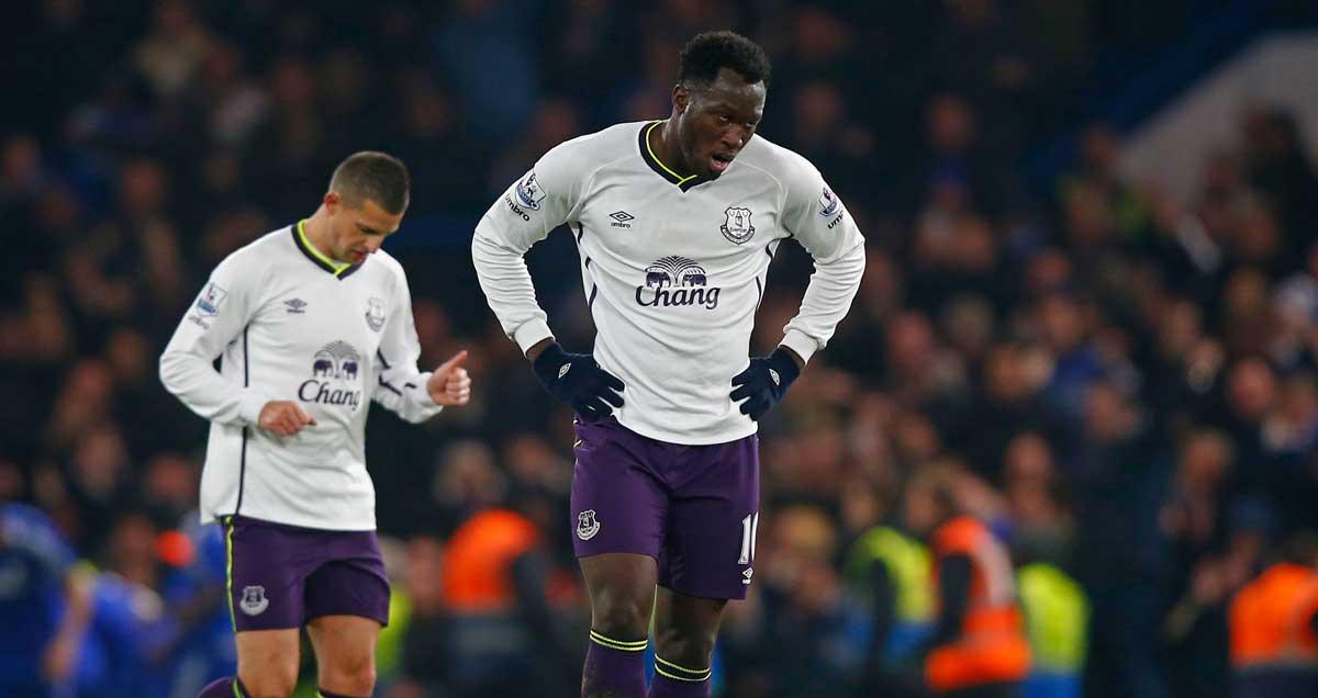 Everton's-Romelu-Lukaku-looking-disinterested