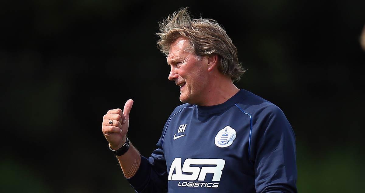 Former QPR coach Glenn Hoddle