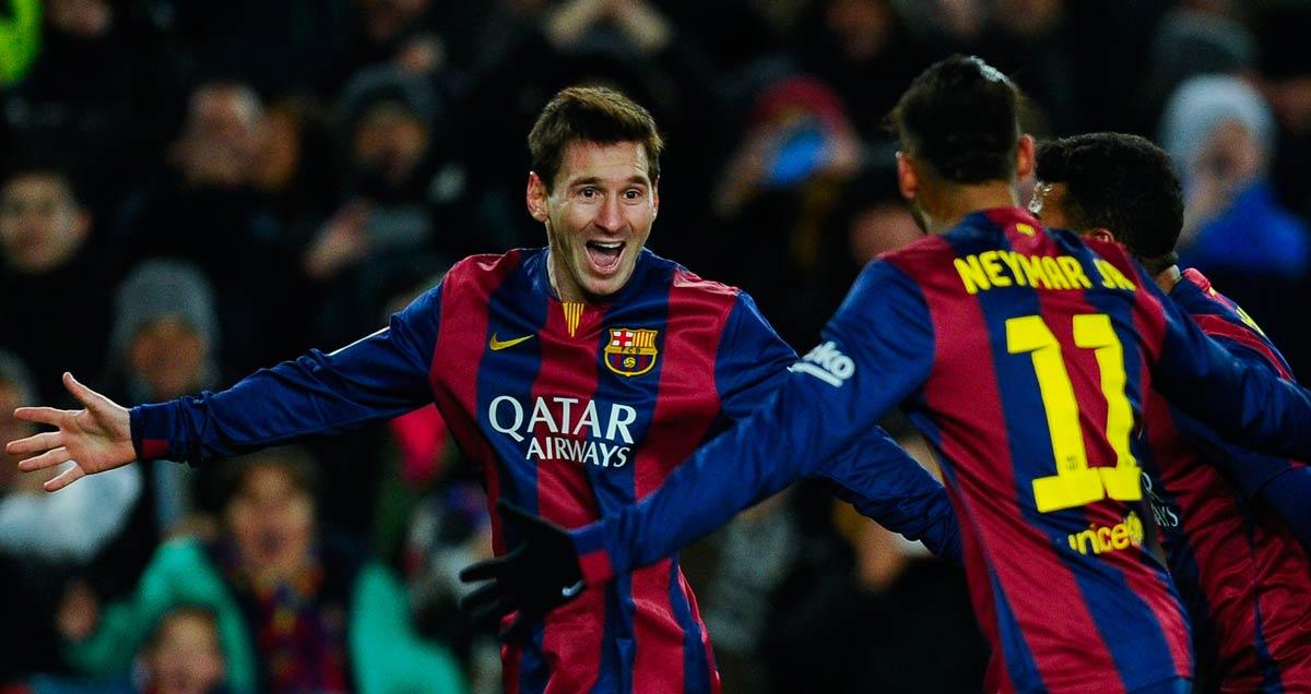 Lionel Messi bags against Villarreal