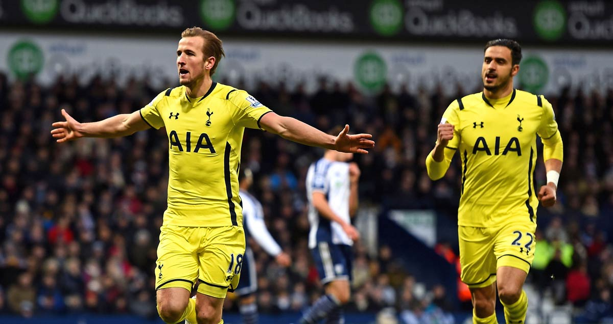 Nacer Chadli and Harry Kane have developed a promising understanding